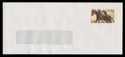 U.S. Scott # U 668/23-WINDOW 2, UPSS #3904/UNW (LOGO L) 2010 44c Seabiscuit - Mint (See Warranty)