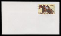 U.S. Scott # U 668/12, UPSS #3905/UNW (LOGO L) 2010 44c Seabiscuit - Mint (See Warranty)
