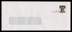 U.S. Scott # U 667/23-WINDOW, UPSS #3934/UNW (LOGO L) 2010 FOREVER (44c) Liberty Bell - Mint (See Warranty)