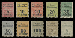 10 Different Bavarian Railway Revenues