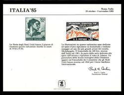 Brookman PS60/Scott SC109 1985 Italia '85 Souvenir Card