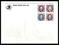 Brookman PS69/Scott SC127 1989 World Stamp Expo '89 Souvenir Card