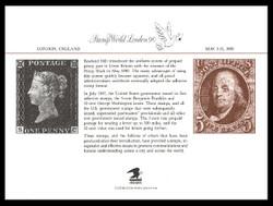 Brookman PS70/Scott SC130 1990 Stamp World London Souvenir Card