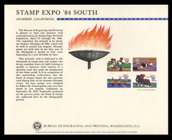 Brookman B 67/Scott SC93 1984 Stamp Expo '84