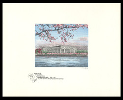 Brookman B101/NO Scott # 1987 BEP 125th Anniversary - Cherry Blossoms