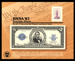 Brookman B111/Scott SC120 1987 Hawaii Numismatist