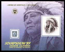 Brookman B132/Scott SC126 1989 APS Stampshow, Anaheim