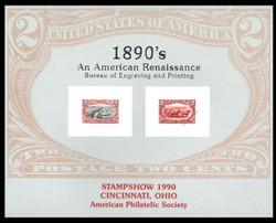 Brookman B142/Scott SC129 1990 APS Stampshow