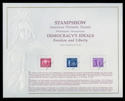 Brookman B151/Scott SC131 1991 APS Stampshow, Philadelphia