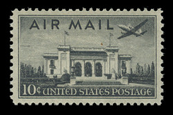 U.S. Scott # C  34, 1947 10c Pan-American Union Building