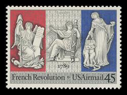 U.S. Scott # C 120, 1989 45c French Revolution