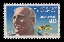 U.S. Scott # C 129, 1991 40c William T. Piper
