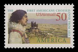 U.S. Scott # C 131, 1991 50c Pre-Columbian America