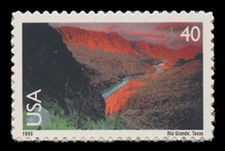 U.S. Scott # C 134, 1999 40c Rio Grande