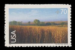 U.S. Scott # C 136, 2001 70c Nine-Mile Prairie, Nebraska