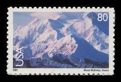 U.S. Scott # C 137, 2001 80c Mt. McKinley
