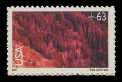 U.S. Scott # C 139, 2006 63c Bryce Canyon National Park
