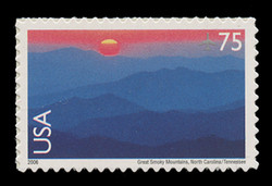 U.S. Scott # C 140, 2006 75c Great Smoky Mountains National Park