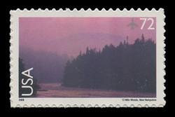 U.S. Scott # C 144, 2008 72c 13-Mile Woods, New Hampshire