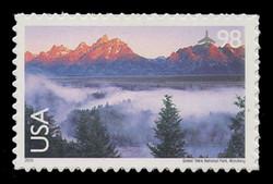U.S. Scott # C 147, 2009 98c Grand Teton National Park, Wyoming