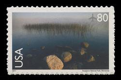 U.S. Scott # C 148, 2011 80c Voyageurs National Park, Minnesota