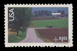 U.S. Scott # C 150, 2012 $1.05 Amish Horse & Buggy on Road