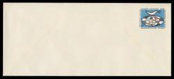 U.N.N.Y. Scott # U  4L, 1969 6c Globe & Weather Vane - Mint Envelope, Large  Size