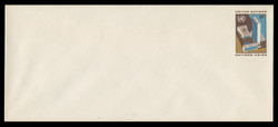 U.N.N.Y. Scott # U  5L, 1973 8c UNNY Headquarters - Mint Envelope, Large  Size