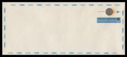 U.N.N.Y. Scott # UC 11L, 1975 13c Globe & Jet - Mint Envelope, Large  Size