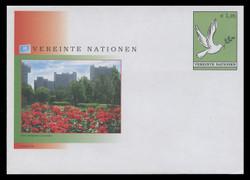 U.N.VIEN Scott # U  9, 2004 E1.25 Dove with Olive Branch - Mint Envelope