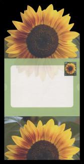 U.S. Scott # U 665, 2008 42c Sunflower  - Letter Sheet, Folded (See Warranty)