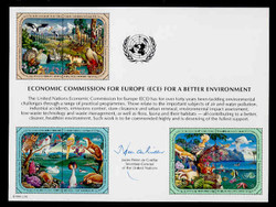U.N. Souvenir Card # 39 - Economic Commission for Europe