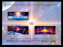 U.N. Souvenir Card # 41 - Mission to Planet Earth
