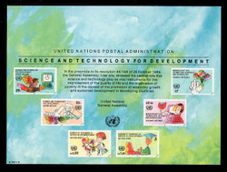 U.N. Souvenir Card # 42 - Science and Technology for Development
