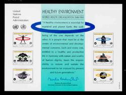 U.N. Souvenir Card # 43 - Healthy Environment