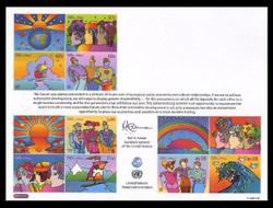 U.N. Souvenir Card # 57 - Johannesburg Summit