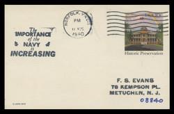 U.S. Scott # UX  81, 1979 10c Iolani Palace, Honolulu - Used Postal Card