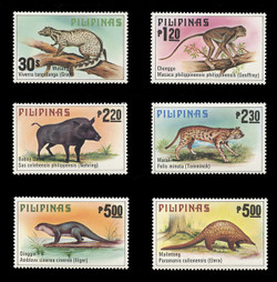PHILIPPINES Scott # 1403-8, 1979 Philippine Animals (Set of 6)