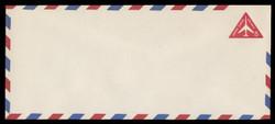 U.S. Scott # UC 37g/23, UPSS #AM96a/49 1962 8c Red Jet in Triangle, Border Type g/7  - Mint (See Warranty)