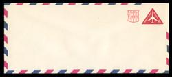 U.S. Scott # UC 41/23, UPSS #AM102/49 1968 10c Re-Value of 8c Red Jet in Triangle, Border Type f/6  - Mint (See Warranty)
