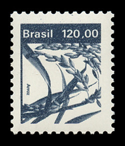 BRAZIL Scott # 1936, 1984 120cr Rice