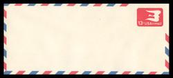 U.S. Scott # UC 47/23, UPSS #AM108/49A 1973 13c Red SYmbolic Bird, Border Type g/7  - Mint (See Warranty)