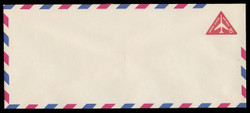 U.S. Scott # UC 37/23, UPSS #AM96/48V 1962 8c Red Jet in Triangle, Border Type f/6, Violet Lozenges - Mint (See Warranty)