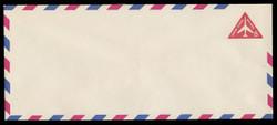 U.S. Scott # UC 37/23, UPSS #AM96/49v 1962 8c Red Jet in Triangle, Border Type f/6, Violet Lozenges - Mint (See Warranty)