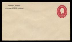 U.S. Scott # U 533/10, UPSS # 3317a/44 1950 2c Washington, Die 3 - Mint (See Warranty)