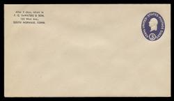 U.S. Scott # U 534a/13, UPSS #3342/43 1950 3c Washington, Die 1 - Mint (See Warranty)