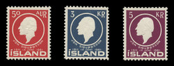 ICELAND Scott #  335-7, 1961 Jon Sigurdsson, Statesman and Scholar (Set of 3)