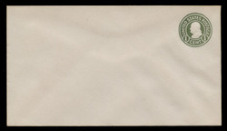 U.S. Scott # U 420/13, UPSS #2015/38 1915-32 1c Franklin, green on white, Die 1 - Mint (See Warranty)
