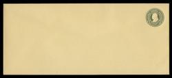 U.S. Scott # U 421/23, UPSS #2071/29 1915-32 1c Franklin, green on amber, Die 1 - Mint (See Warranty)
