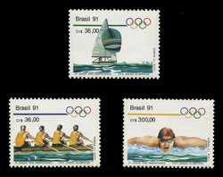 BRAZIL Scott # 2306-8, 1991 11th Pan-American Games (Set of 3)